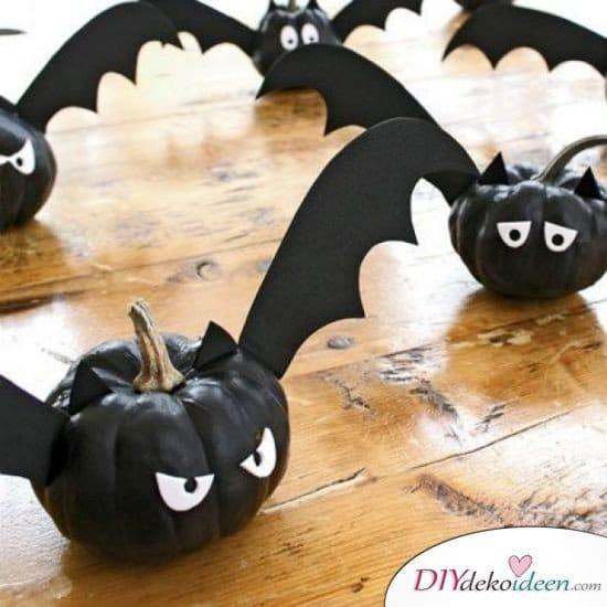 Halloween Bastelideen für Kinder - DIY Bastelideen Halloween