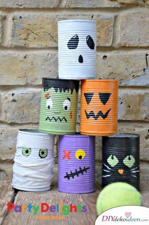 Halloween Bastelideen für Kinder - DIY Bastelideen - Halloween Deko selbermachen