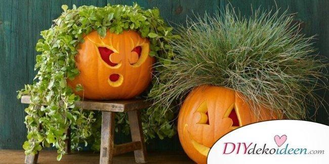 Kürbis schnitzen - Halloween Kürbisse schnitzen - Halloween Kürbislaternen Ideen