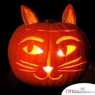 Kürbis schnitzen - Halloween Kürbis schnitzen - Ideen für Halloween