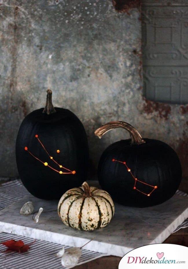 Kürbis schnitzen - Ideen für Halloween