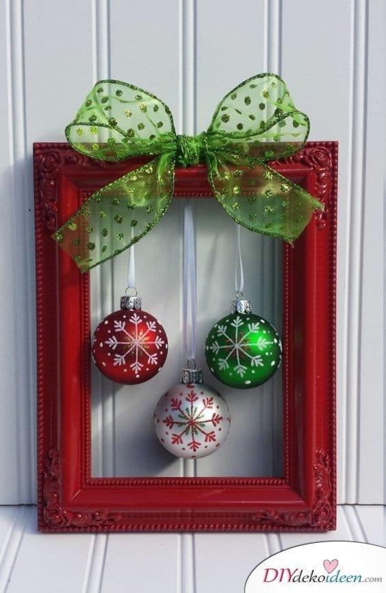 Zu Weihnachten basteln - DIY Bastelideen - Weihnachtsdekoideen