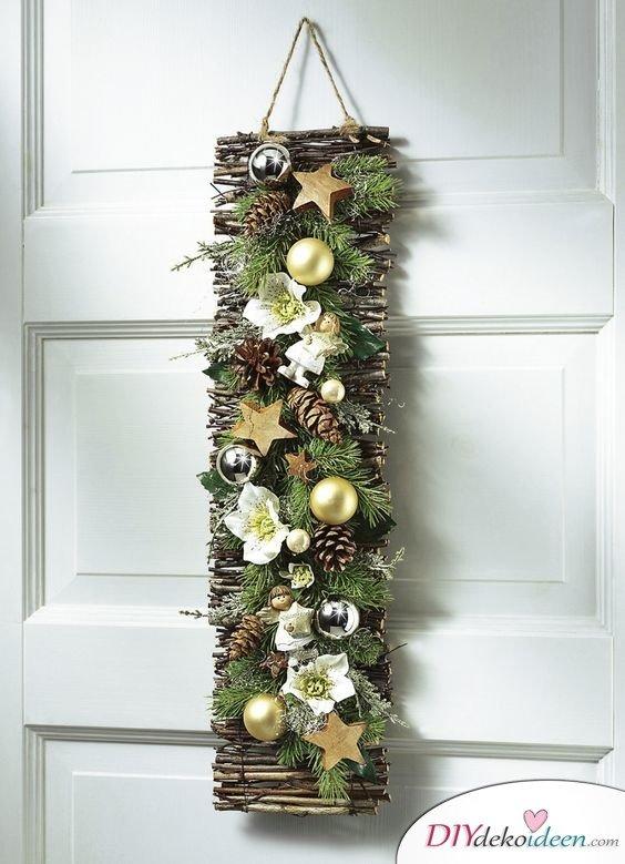 Zu Weihnachten basteln - DIY Bastelideen - Weihnachten Dekoideen