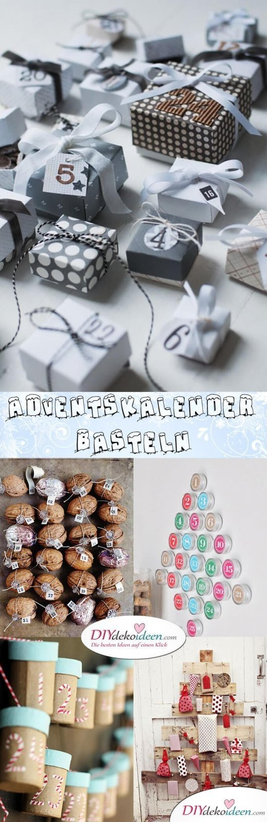 Such a single Advent calendar may be a bastard - 15 ideas