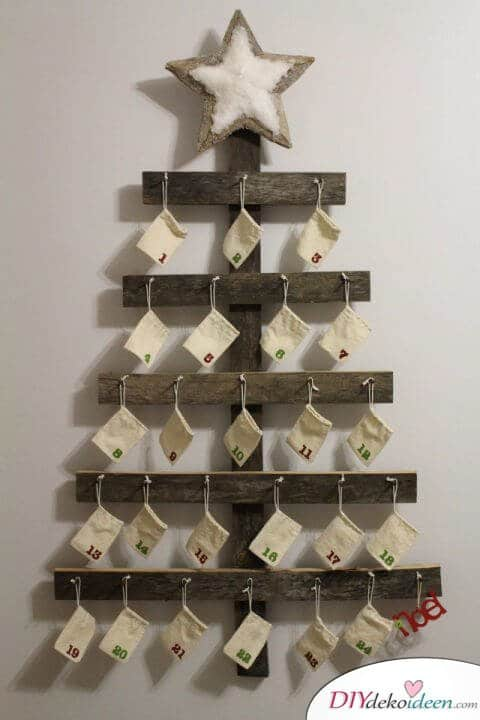 Advent calendar selber basteln - 10+ DIY Bastelid + + Directions - Advent calendar bastel