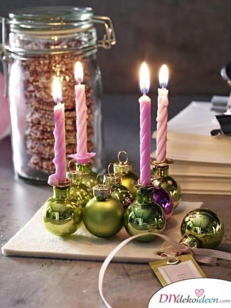 Adventskranz selber machen - 10+ Ideen - Weihnachten Bastelidee