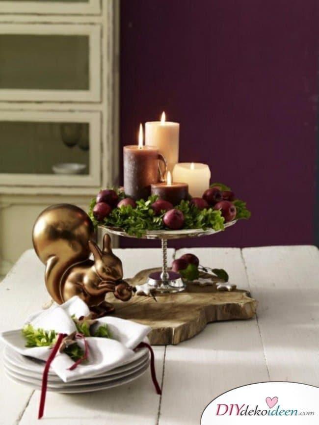 Adventskranz selber machen - 10+ Ideen - Adventskranz basteln