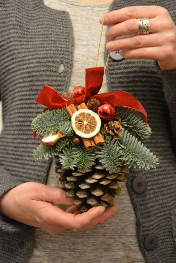 10+ super leichte Bastelideen für Weihnachten - Weihnachten basteln - Weihnachten Bastelideen- Weihnachten 2017 Deko selber machen Ideen