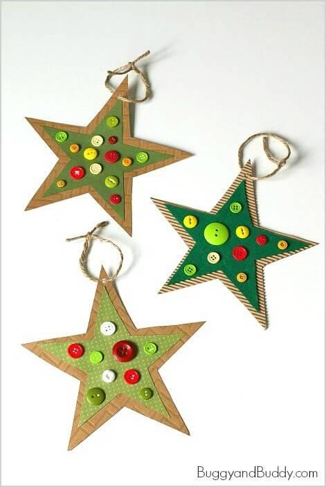 10+ super leichte Bastelideen für Weihnachten - Weihnachten basteln - Weihnachten Bastelideen- Christbaumschmuck selber machen Ideen