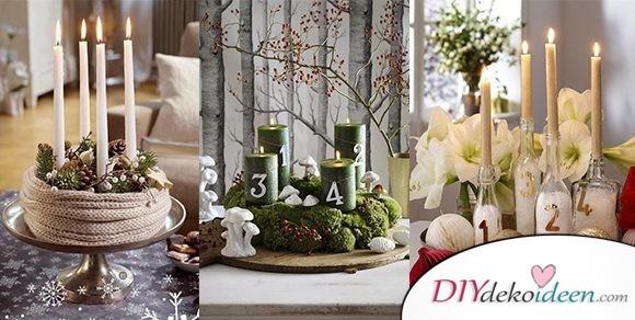 Bezaubernde DIY Bastelideen – Adventskranz basteln in der Vorweihnachtszeit