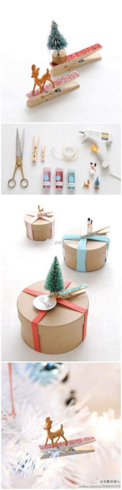 Weihnachtsschmuck basteln - Bastelideen für Weihnachten - Weihnachtsbasteln - Dekoideen Weihnachten - Weihnachtsdeko selber machen - Weihnachts Deko basteln