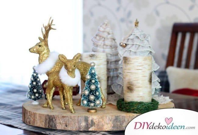 15 Tischdeko Ideen für Weihnachten - Weihnachten dekorieren Ideen