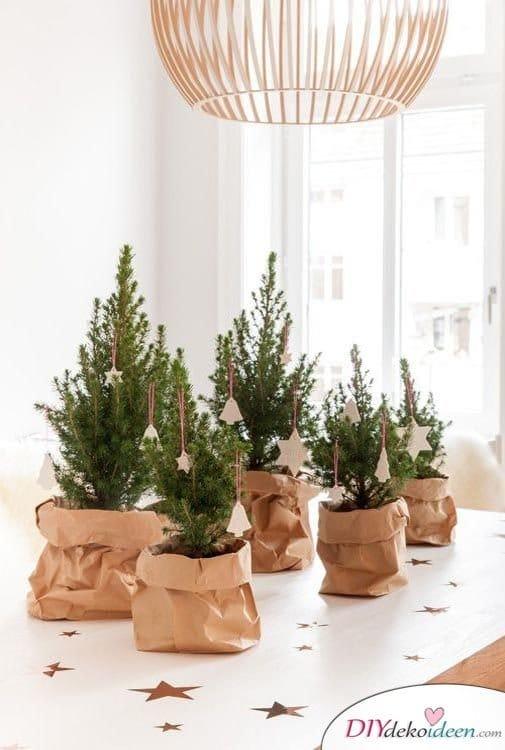 15 Tischdeko Ideen für Weihnachten - Weihnachten 2017 Deko