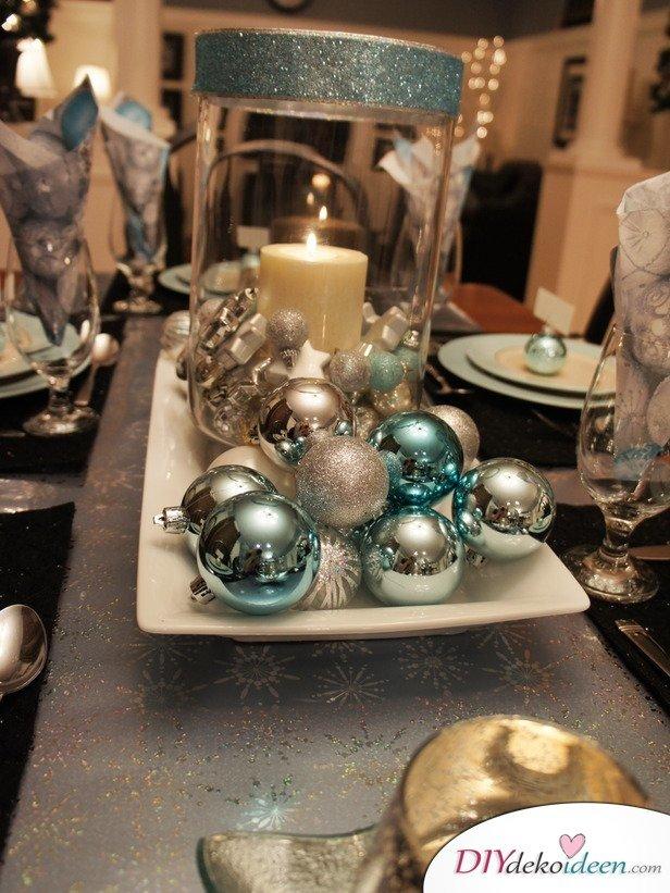 15 Tischdeko Ideen für Weihnachten - Deko Ideen Weihnachten Tisch dekorieren
