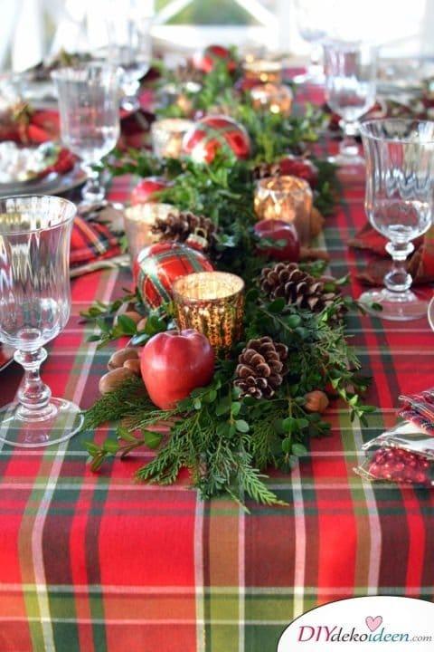 15 Tischdeko Ideen für Weihnachten - Wedding Day Ideas