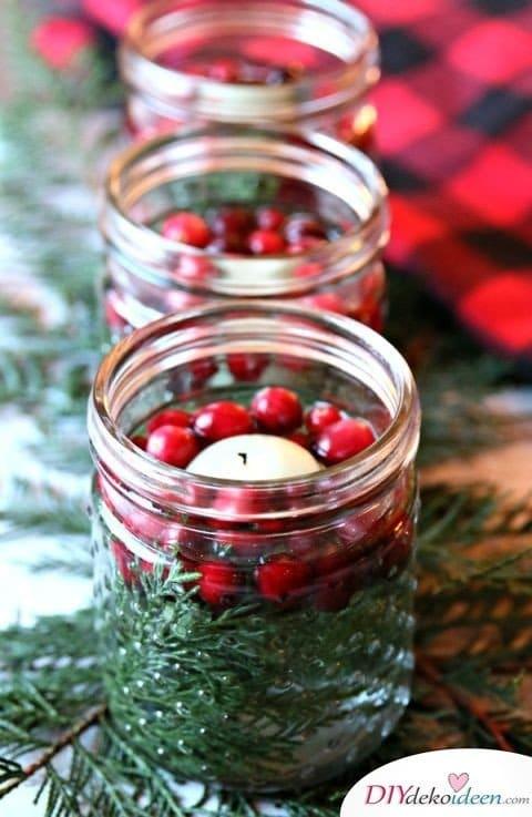 15 Tischdeko Ideen für Weihnachten - Weihnachten Tisch dekorieren