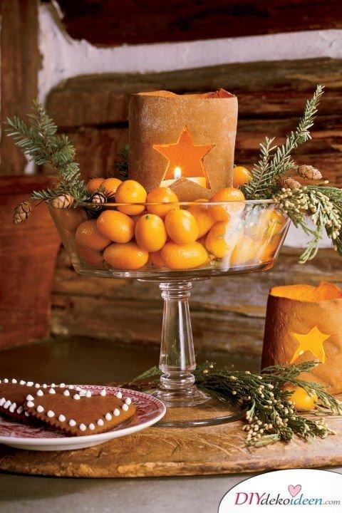 15 Tischdeko Ideen für Weihnachten - Weihnachtsdeko