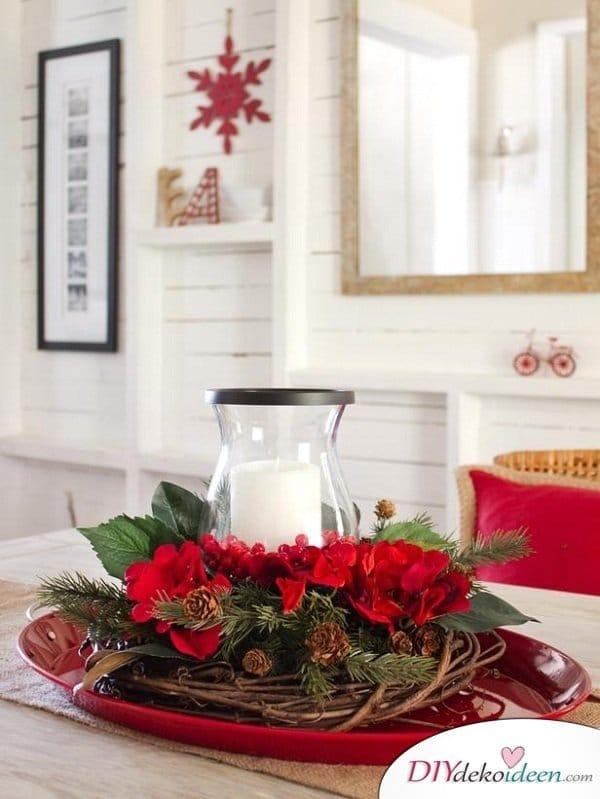 15 Tischdeko Ideen für Weihnachten - Weihnachten Tischdeko Ideen