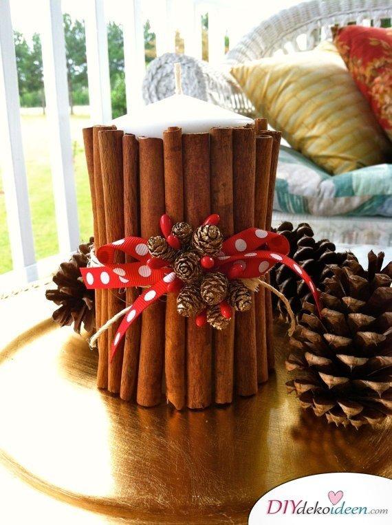 15 Tischdeko Ideen für Weihnachten - Tischdeko Idee für Weihnachten Tisch dekorieren