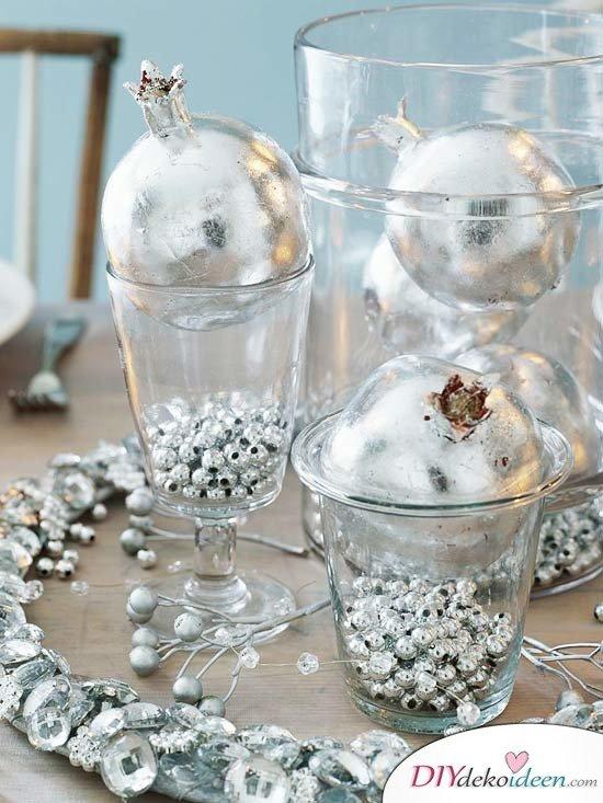 15 Tischdeko Ideen für Weihnachten - Tischdekoidee für Weihnachten dekorieren