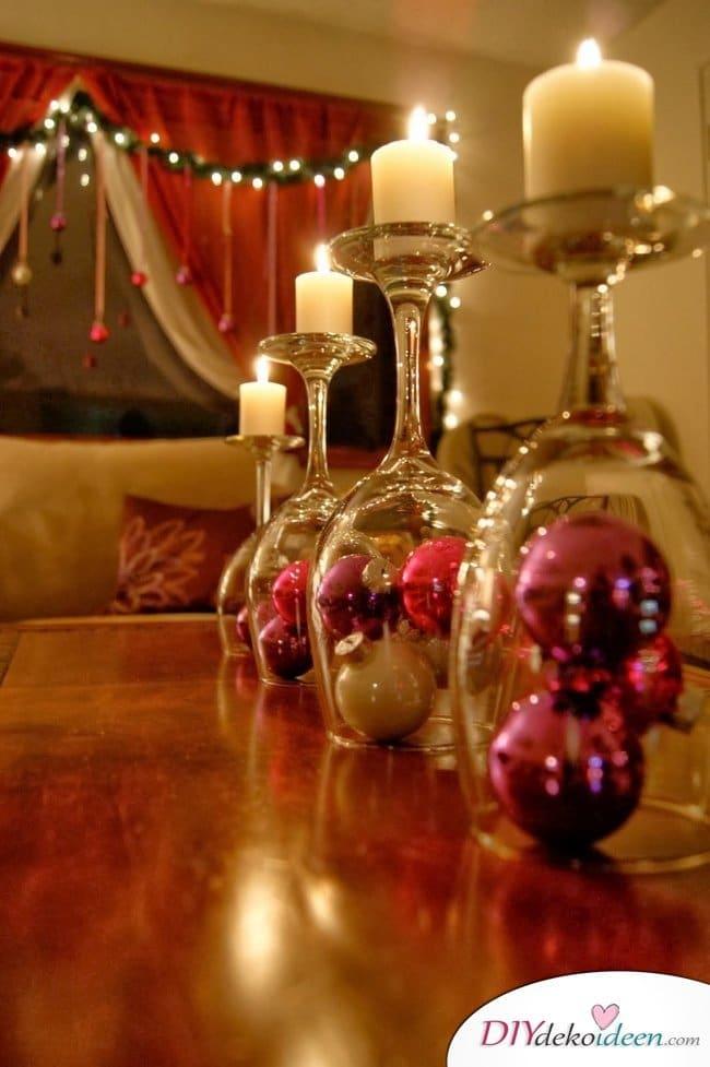 15 Tischdeko Ideen für Weihnachten - Tischdekoideen für Weihnachten dekorieren
