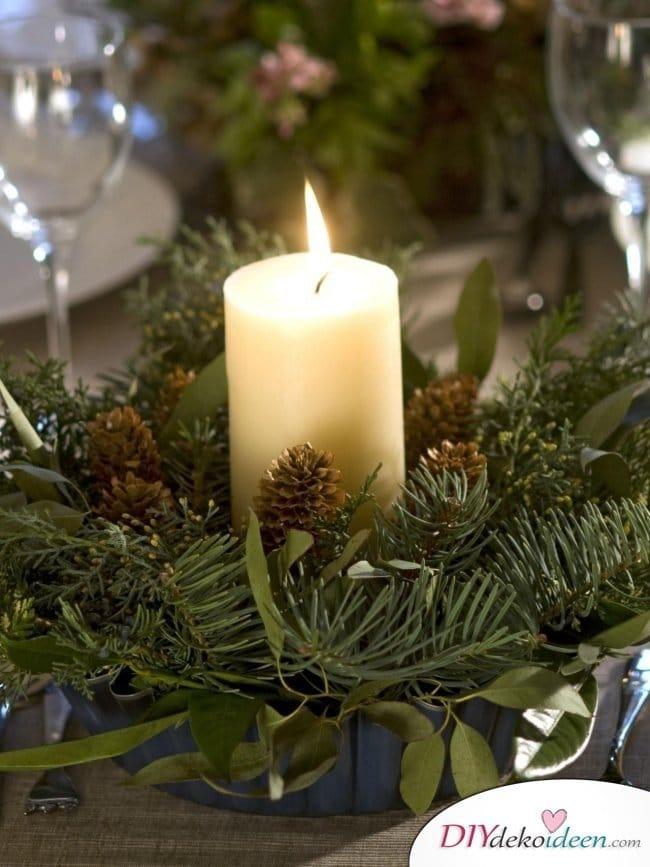 15 Tischdeko Ideen für Weihnachten - Tischdeko Idee für Weihnachten