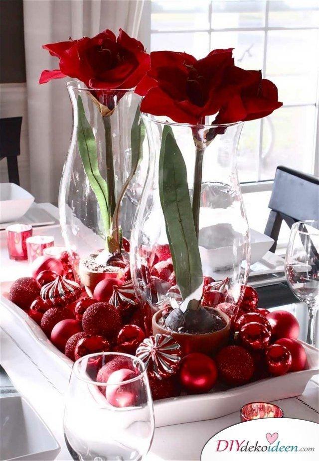 15 Tischdeko Ideen für Weihnachten - Weihnachtstischdeko
