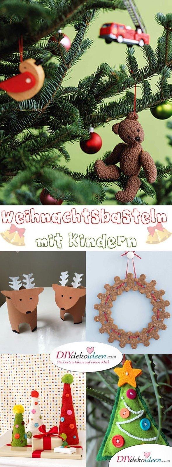 Zauberhafte Ideen Fürs Weihnachtsbasteln Mit Kindern Die