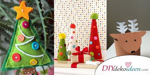 zauberhafte ideen f rs weihnachtsbasteln mit kindern die spa machen. Black Bedroom Furniture Sets. Home Design Ideas