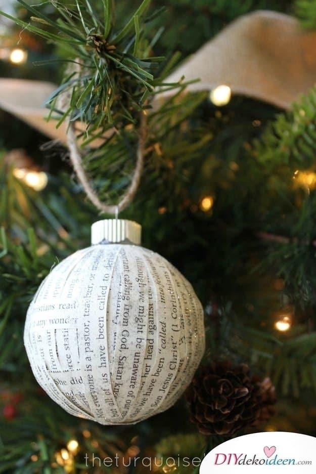 Weihnachtsbasteln mit Kindern - 15 DIY Bastelideen - Weihnachten basteln - basteln mit Papier