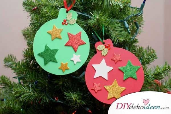 Weihnachtsbasteln mit Kindern - 15+ DIY Bastelideen - Weihnachten basteln - DIY Bastelideen zum selber machen - Weihnachtsdeko basteln