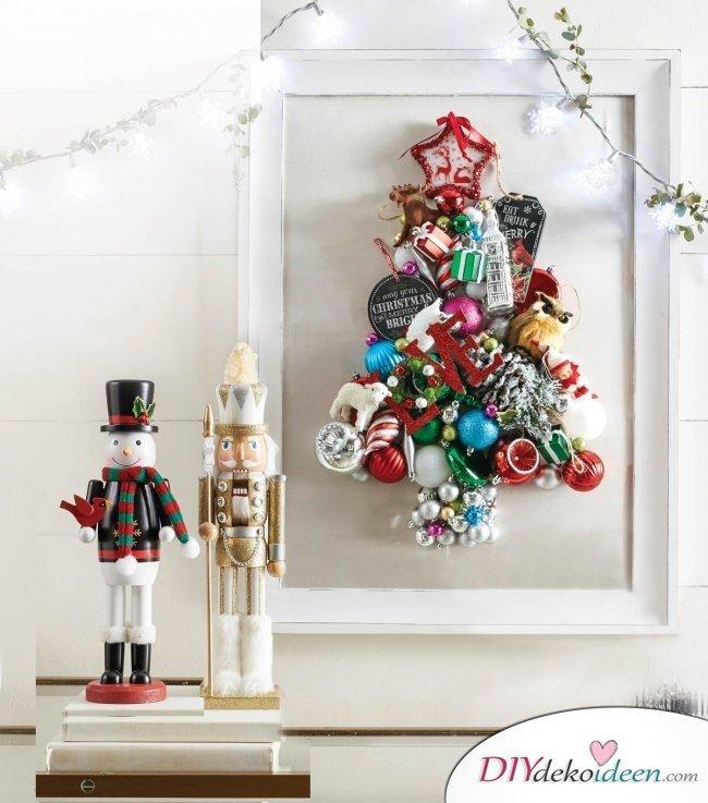 Weihnachtsbasteln mit Kindern - 15+ DIY Bastelideen - DIY Bastelideen - Weihnachtsdeko basteln