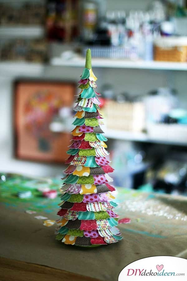 Weihnachtsbasteln mit Kindern - 15+ DIY Bastelideen - Weihnachten basteln - DIY Bastelideen zum selber machen