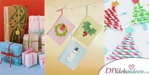 So leicht k nnt ihr weihnachtsschmuck basteln bastelideen f r weihnachten - Adventskranz fur kindergarten ...