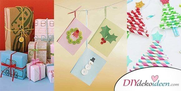DIY Bastelideen für die ganze Familie – Weihnachtsbasteln mit Kindern