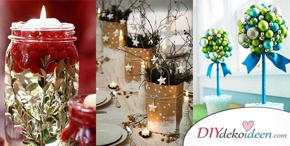 Weihnachtstischdeko ideen die deine g ste bezaubern werden - Dekoration weihnachtstischdeko ...