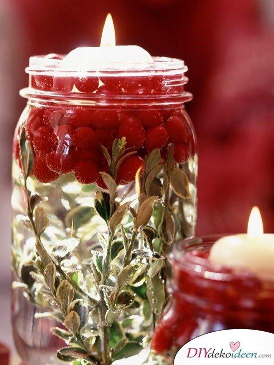 15 Weihnachtstischdeko Ideen - Weihnachten Tisch Dekoideen