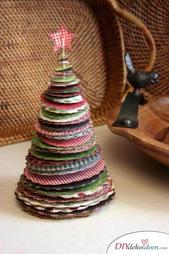 15 Weihnachtstischdeko Ideen - Tischdekoidee für Weihnachten - Weihnachtsbasteln