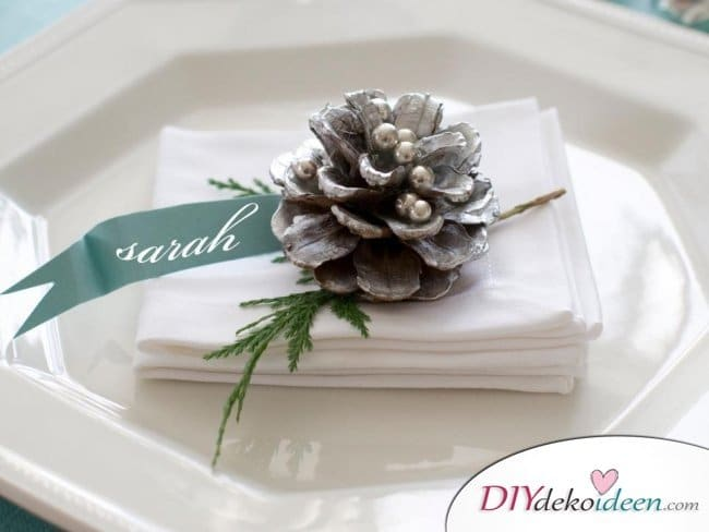 15 Weihnachtstischdeko Ideen - Weihnachten dekorieren