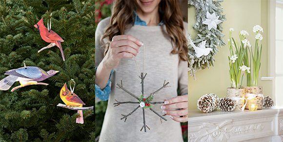 Leichte DIY Weihnachtsdeko Ideen zum Selbermachen