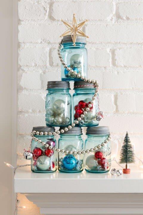 15 DIY Weihnachtsdeko Ideen - DIY Deko Weihnachten - Advent - Weihnachtsbasteln - Weihnachten Deko Ideen selber machen