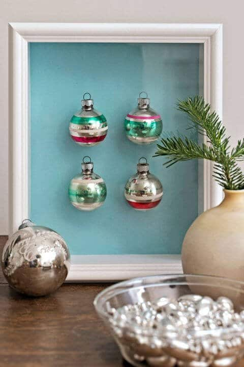 15 DIY Weihnachtsdeko Ideen - Weihnachten dekorieren - DIY Deko Weihnachten - Advent - Weihnachtsbasteln - Weihnachten Deko selber machen - Bastelideen - Christbaumkugeln Deko
