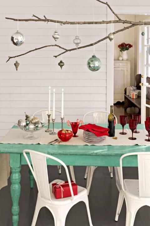15 DIY Weihnachtsdeko Ideen - Weihnachten dekorieren - DIY Deko Weihnachten - Advent - Weihnachtsbasteln - Weihnachten Deko selber machen - Bastelideen - Christbaumkugeln Dekoration