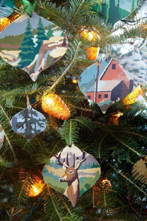 15 DIY Weihnachtsdeko Ideen - Weihnachten dekorieren - DIY Deko Weihnachten - Advent - Weihnachtsbasteln - Weihnachten Deko selber machen - Bastelidee