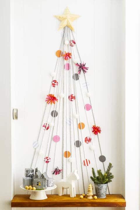 15 leichte DIY Weihnachtsdeko Ideen zum Selbermachen - Weihnachten DIY Deko Ideen Tannenbaum