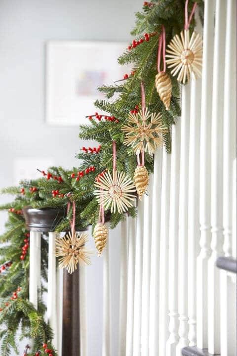 15 leichte DIY Weihnachtsdeko Ideen zum Selbermachen - Weihnachten DIY Deko Ideen Strohsterne