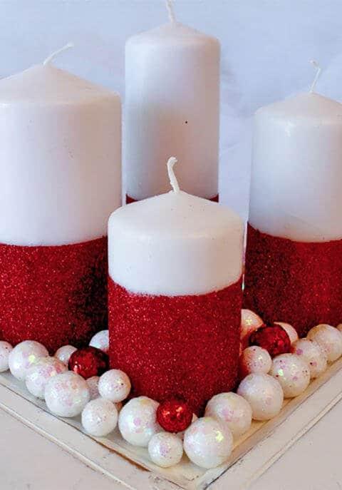 15 leichte DIY Weihnachtsdeko Ideen zum Selbermachen - Weihnachten DIY Dekoidee