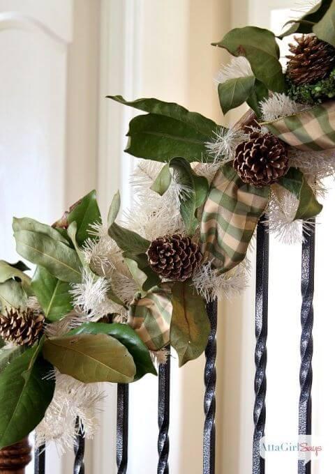 15 Ideen für DIY Weihnachtsdekoration - Weihnachten Dekoideen - Weihnachtsdeko - dekorieren mit Tannenzapfen Deko