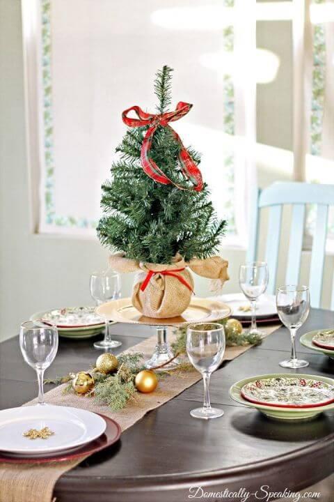 15 Ideen für DIY Weihnachtsdekoration - Weihnachten Dekoideen - Weihnachtsdeko - dekorieren - Tannenbaum - Tischdeko Weihnachten