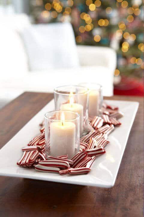15 Ideen für DIY Weihnachtsdekoration - Weihnachten Dekoideen - Weihnachtsdeko - dekorieren Kerzen